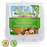 Nutty-By-Nature All Purpose Food Strainer Bag For Nut Milks, Cold Brew Coffee, Tea, Fresh Juice, Cheese Making, Sprouting and More