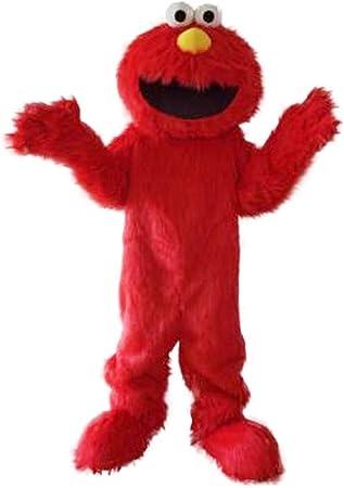 rushopn Super Sesame Street Lindo Disfraz de Elmo Monstruo Rojo ...