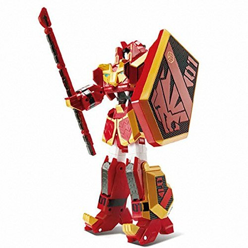 Geo Mecha Beast Guardian LEO KHAN Transformer Robot Lion Toy Action Figure by YOUNG TOYS (Image #1)