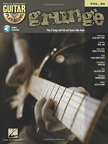 Grunge Guitar Play-Along Volume 88 Bk/CD