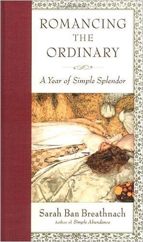 A Year of Simple Splendor 2004 Engagement Calendar Romancing the Ordinary