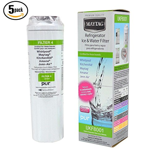 5P-Maytag UKF8001 UKF8001AXX Pur Whirlpool 4396395 EDR4RXD1 Fridge Water Filter by new