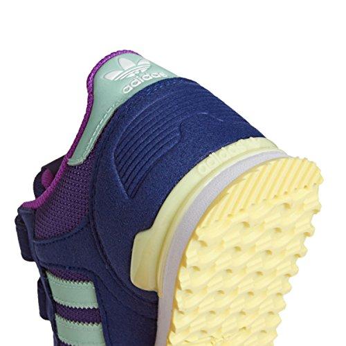 adidas Zx 700 Cf C, Zapatillas de Deporte para Niños Morado (Puruni / Verhie / Ftwbla)
