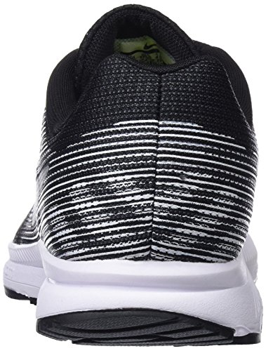 Nike Men's Zoom Span 2 Running Shoes Black (Black/Dark Grey/White/Metallic Silver) ON6xcQ