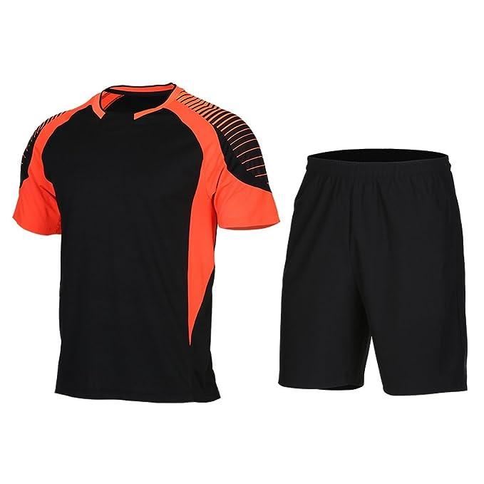 b187d8c64fd Men Soccer Jerseys Football Shirt Kit Survetement Basketball Sets Maillot  De Foot Soccer Sport Running Tracksuit