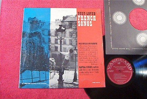 Best Loved French Songs: Folk Popular and Patriotic: Pop Vocal: France Vinyl Lp (1958)