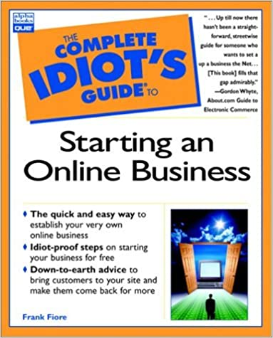 Book Complete Idiot's Guide to Starting an Online Business by Fiore, Frank [Alpha,2003]