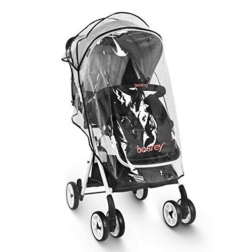 Besrey Lightweight Foldable Baby Stroller - Gray by besrey (Image #3)