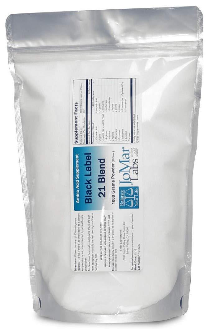 Jo Mar Labs Black Label Pure Form 21 Blend 1000g Amino Acid Powder by Jo Mar Labs