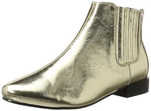 Bianco Metallik Chelsea Boots - Botines Chelsea Mujer Gold (Gold)
