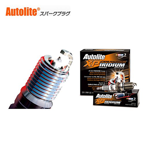 Pack of 4 Autolite XP103-4PK Iridium XP Spark Plug
