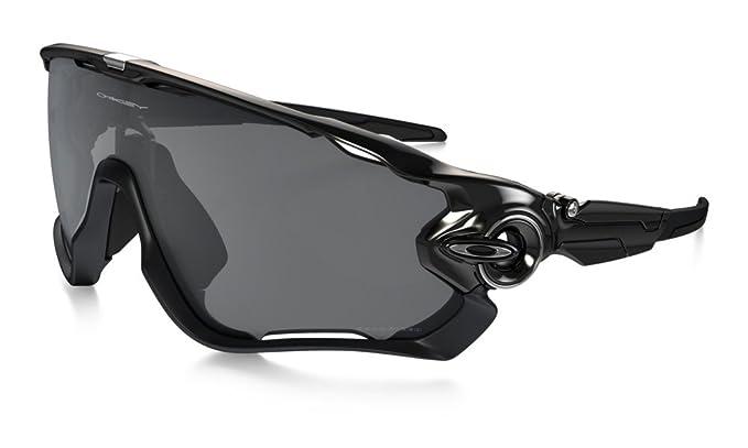 Oakley Pulido Negro Negro Iridium polarizadas gafas de sol Jawbreaker