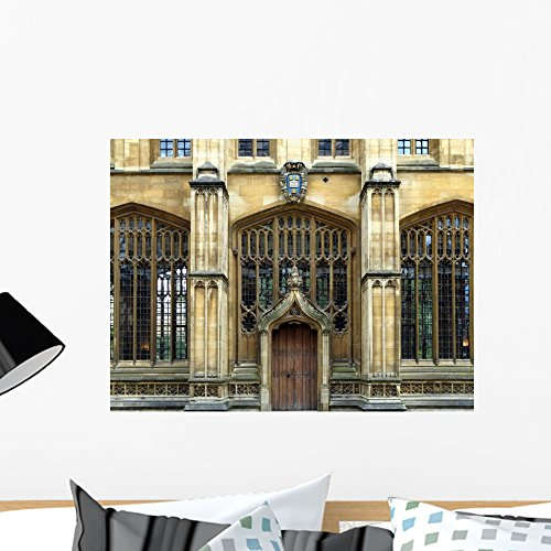 Wallmonkeys WM244226 Oxford University Bodleian Library Peel and Stick Wall Decals (24 in W x 18 in H), ()
