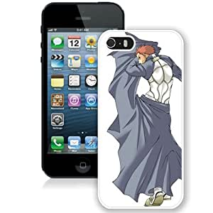 Popular And Unique Designed Cover Case For iPhone 5S With Fate Stay Night Archer Emiya Shirou Boy Clothes Gestures white Phone Case BY icecream design