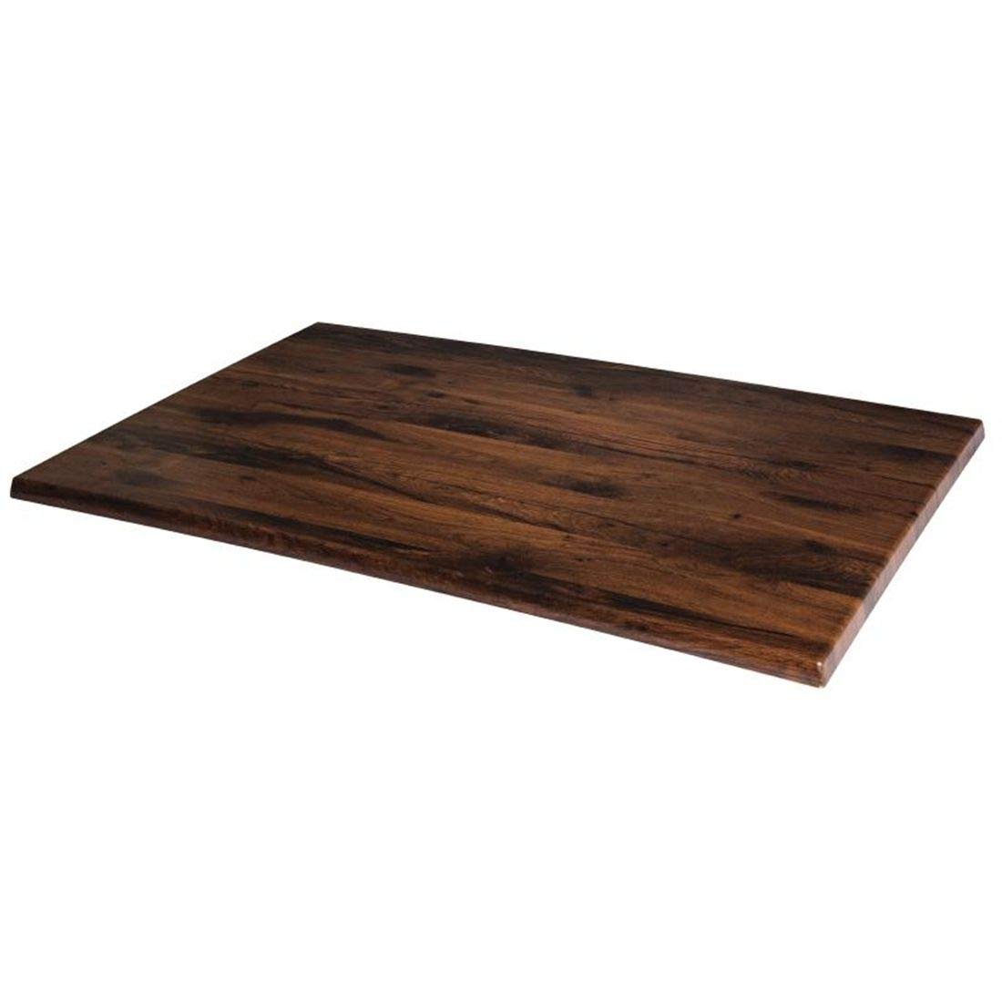 Werzalit plus GR387 rectangular tablero de la mesa, roble, 1100 mm)