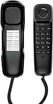 GY Teléfono Fijo: teléfono con Cable, teléfono de Pared, teléfono inalámbrico, se Puede Usar para teléfono Fijo (210X65MM) /+-+/ (Color : A): Amazon.es: Electrónica