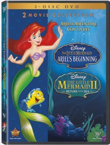 The Little Mermaid II and Ariel's Beginning 2-Movie Collection (2-Disc DVD) by Walt Disney Studios Home Entertainment by Brian Smith Jim Kammerud by Walt Disney Studios Home Entertainment