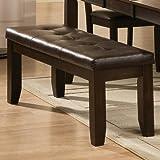 Awesome Amazon Com Fresco Durablend Antique Accent Chair 6310021 Creativecarmelina Interior Chair Design Creativecarmelinacom