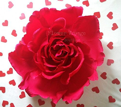 Amazon Com Extra Giant 30 Paper Flower Shop Window Red Paper