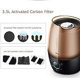 Ultrasonic Cool Mist Humidifier 3.5L Capacity LCD Display 12...