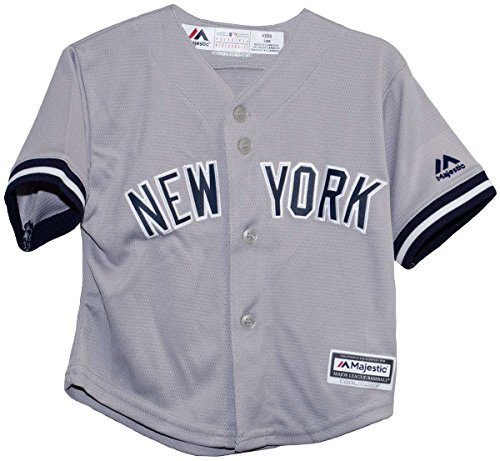 New York Yankees Road Gray Infant Size Jerseys