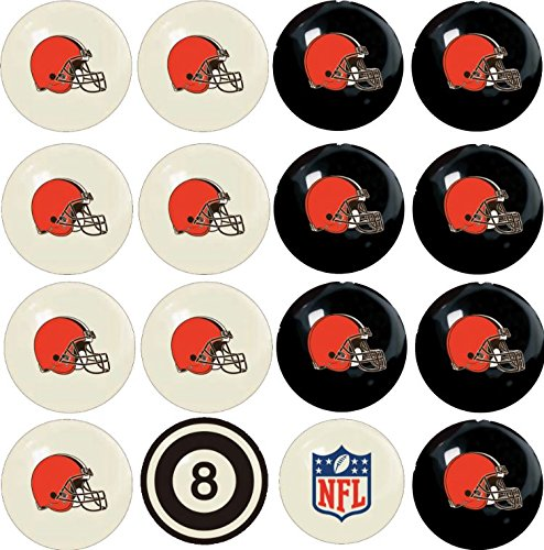 For Sale! Imperial Officially Licensed NFL Home vs. Away Team Billiard/Pool Balls, Complete 16 Ball ...