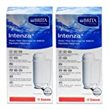 Saeco Intenza+ Water Filter from BRITA Water Technology, Pack of 2