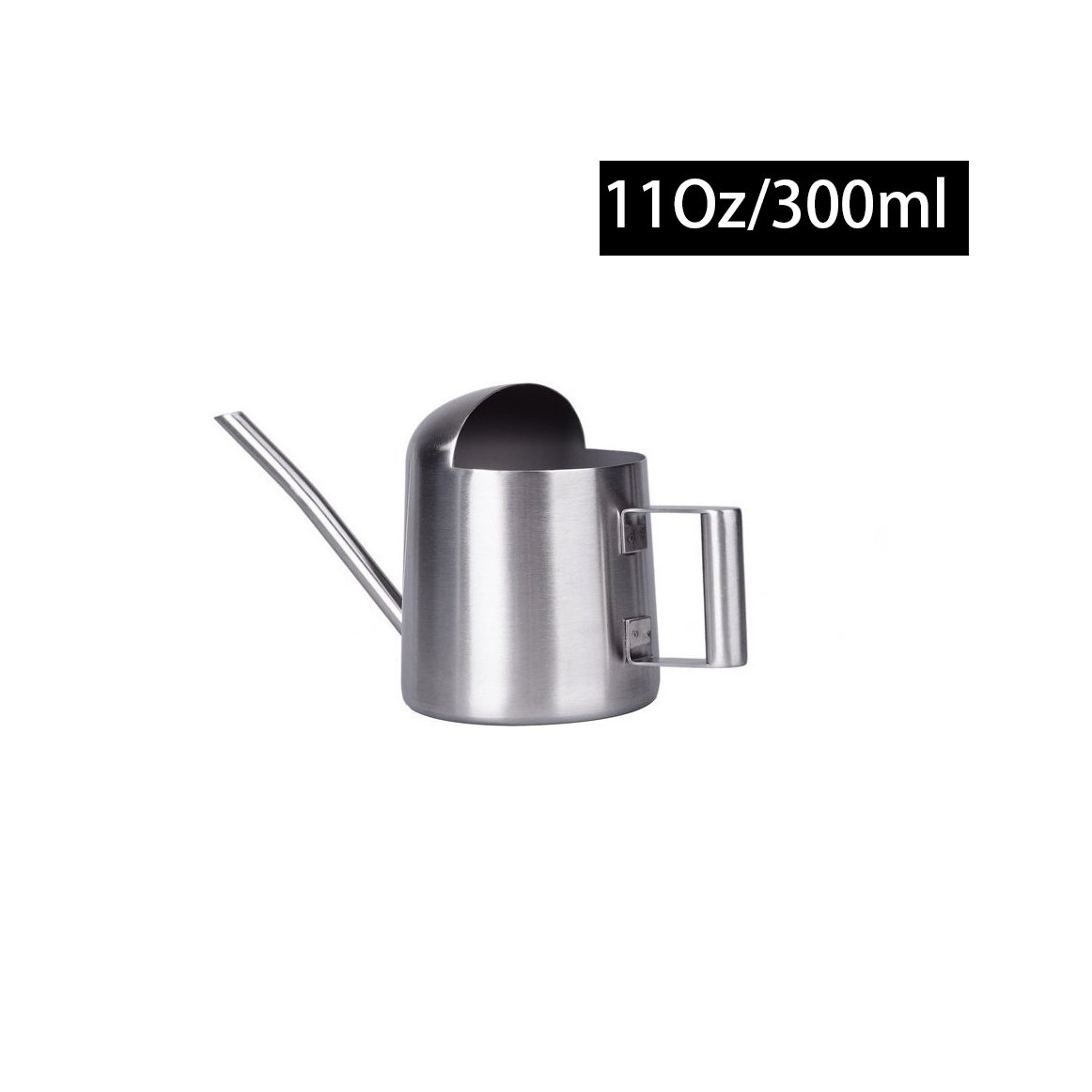 IMEEA Bonsai Watering Can Super Tiny 11OZ/300ml Mini Brushed Stainless Steel for Little Kids