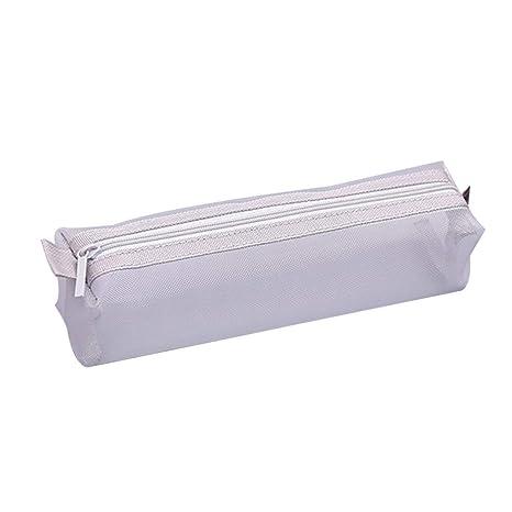 Qinlee - Estuche de malla transparente para cartas, papeles ...