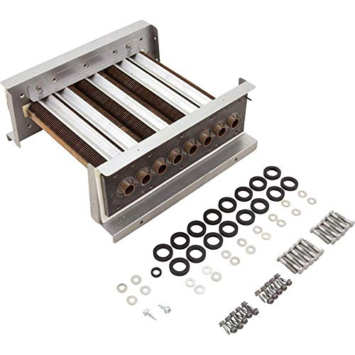 Zodiac R0490301 Heat Exchanger Cupro-Nickel Tube Assembly Replacement for Select Zodiac Jandy Legacy 125 Pool and Spa Heater
