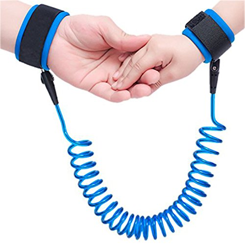 Price comparison product image Borje Safety Child Anti Lost Wrist Link Harness Strap Rope Leash Walking Hand Belt