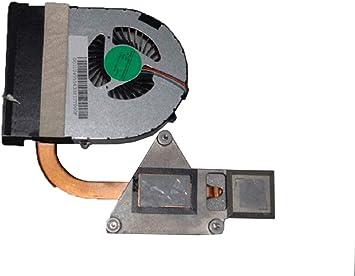 RTDpart - Ventilador y disipador de Calor para Ordenador portátil Lenovo Z570 LZ57 31049554 60.4M409.001 UMA con Ventilador para Quad Core: Amazon.es: Electrónica
