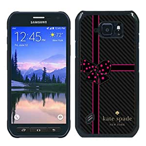 S6 Active case,Kate Spade 216 Black Samsung Galaxy S6 Active cover