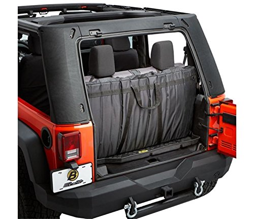 Bestop 42811-01 Window Storage Portfolio for 2007-2018 Trektop Pro Soft Top - Bestop Replacement Windows
