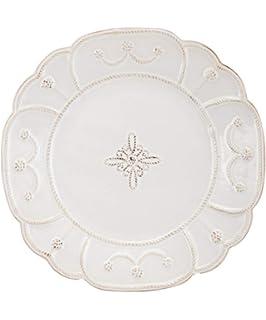Juliska Jardins du Monde White Dinner Plate JMX01//10