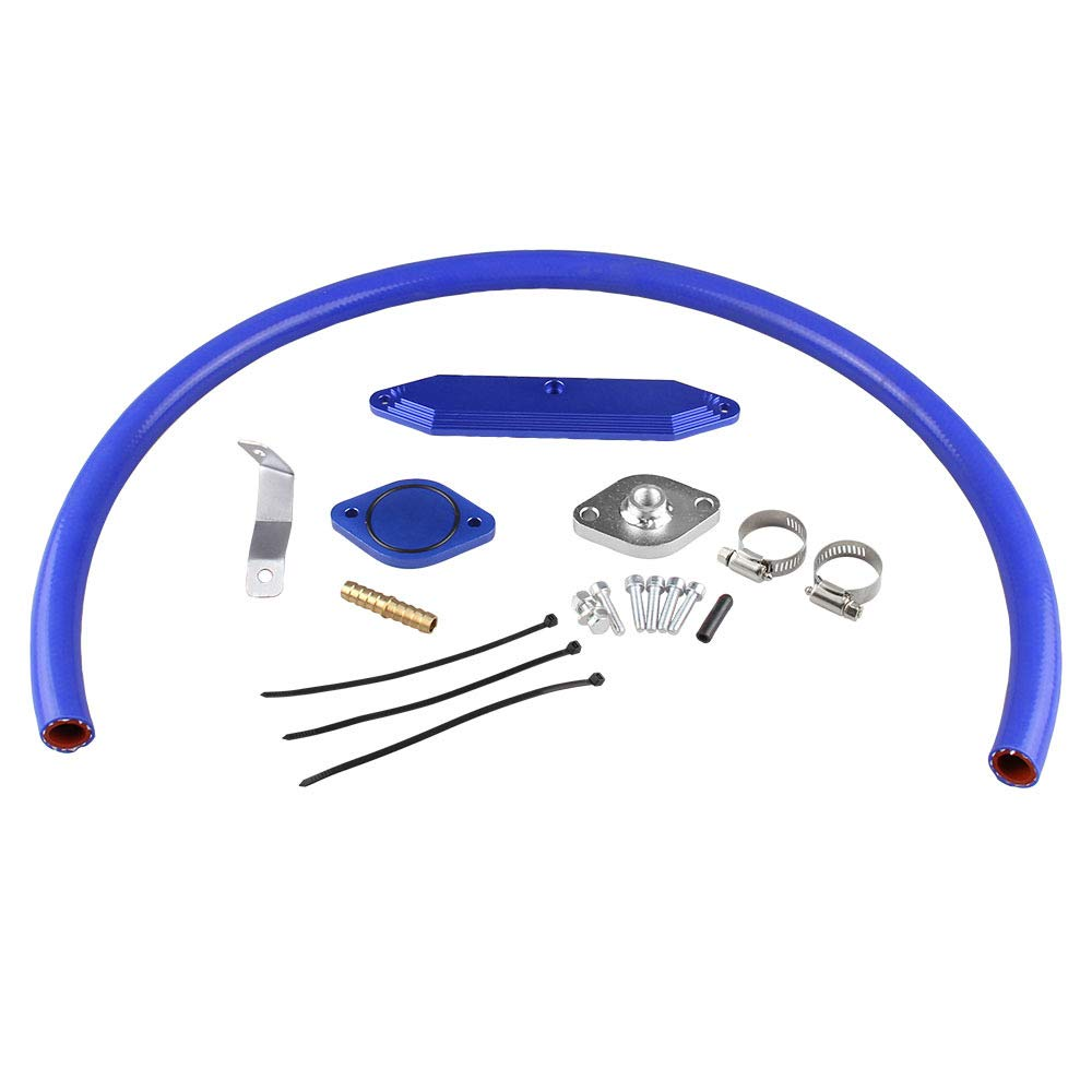 HERCHR Car Modification Universal Tools?Exhaust Gas Circulation Pipe Fittings Waste Recycling Kit For Ford.