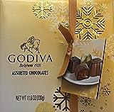 Godiva Belgian Chocolates Gift Box, Assorted, 27 Count 11.9oz. (339g)