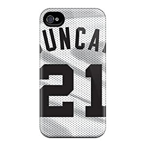 Iphone 6 plus Qed10294dtBu Customized High-definition San Antonio Spurs Skin Shockproof Cell-phone Hard Cover -JamieBratt