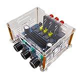 AOSHIKE 2.1 Digital Amplifier TPA3116D2 Stereo DC12V-24V Subwoofer bass Amplifier AV Audio Amplifier board High Power output 200W