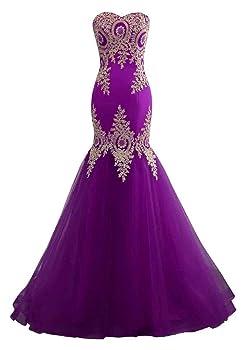 Changuan Mermaid Evening Dress for Women Backless