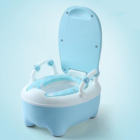 WC Escalera para Silla para IR al baño para niños, Orinal para bebés, diseño ergonómico cómodo Pies Antideslizantes | Diseños Originales para IR al baño Entrenando a su niño o niña: Amazon.es:
