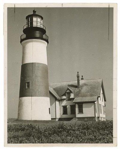 Photo: Sankaty Lighthouse,Siasconset,Nantucket Island,1953