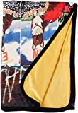 Cowboy Bebop Group Sublimation Throw Blanket, Multicolored