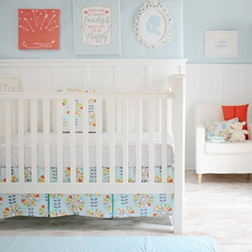 New Arrivals 2 Crib Bed Piece Set, Spring Fever