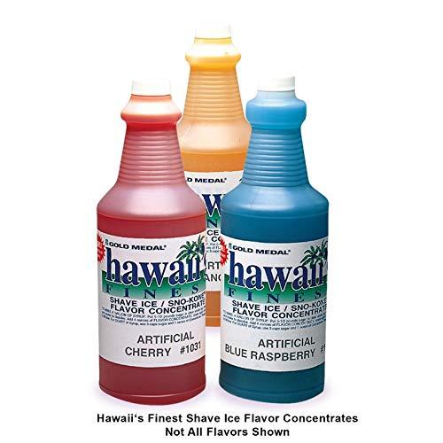 Pina Colada Hawaii's Finest/SNO-Kone Concentrates, Quart