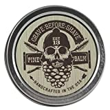 GRAVE BEFORE SHAVE Pine Scent Beard Balm (Pine/Cedar wood scent) (2 oz.)