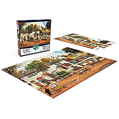 Buffalo Games - Charles Wysocki - Olde Cape Cod - 300 Large Piece Jigsaw Puzzle: Toys & Games
