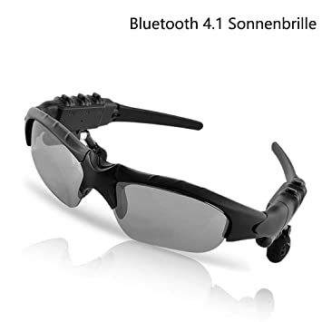 melysEU Bluetooth 4.1 Gafas de Sol, Deportes Gafas polarizadas con einge bautem estéreo Bluetooth Auricular