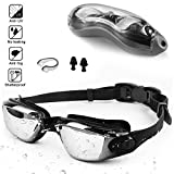 Zerhunt Swim Goggles Anti Fog UV Protection - Look Fashion / Wear Comfortable / Enjoy Swim Experience The Zerhunt No LeakingSwimming Goggles are made with the highest quality for performance and comfort. They use the latest technology of Anti Fog coa...