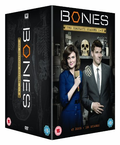 Bones (Complete Seasons 1-8) - 45-DVD Box Set ( Bones - Complete Seasons One to Eight ) [ NON-USA FORMAT, PAL, Reg.2 Import - United Kingdom ] by Emily Deschanel (Bones Season 7 Dvd compare prices)